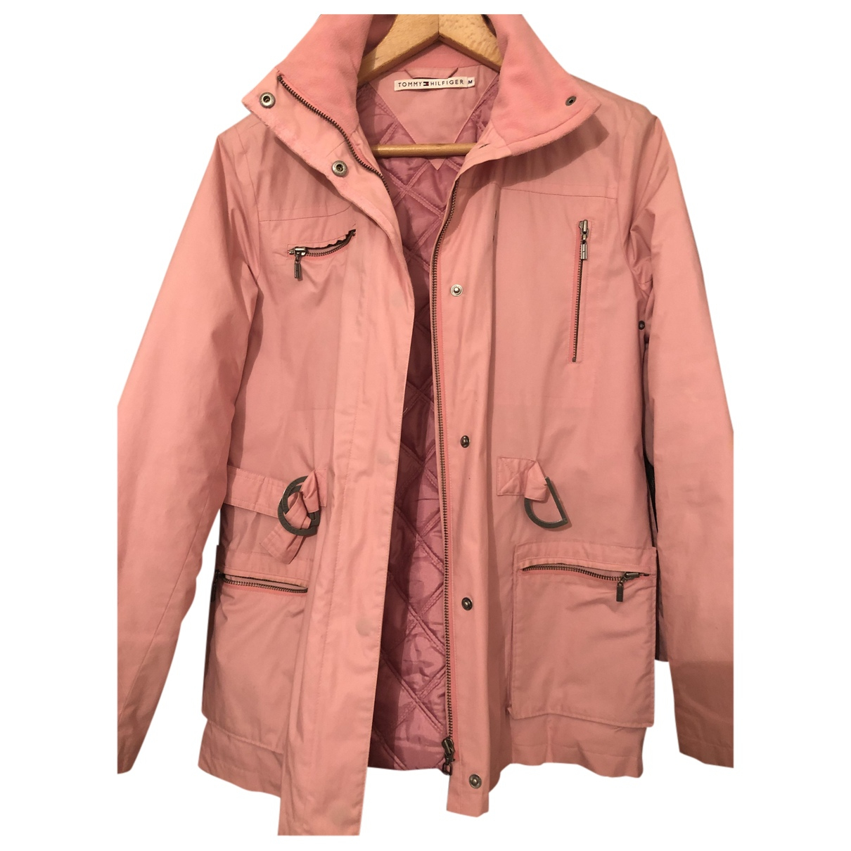 Tommy Hilfiger N Pink Trench coat for Women M International