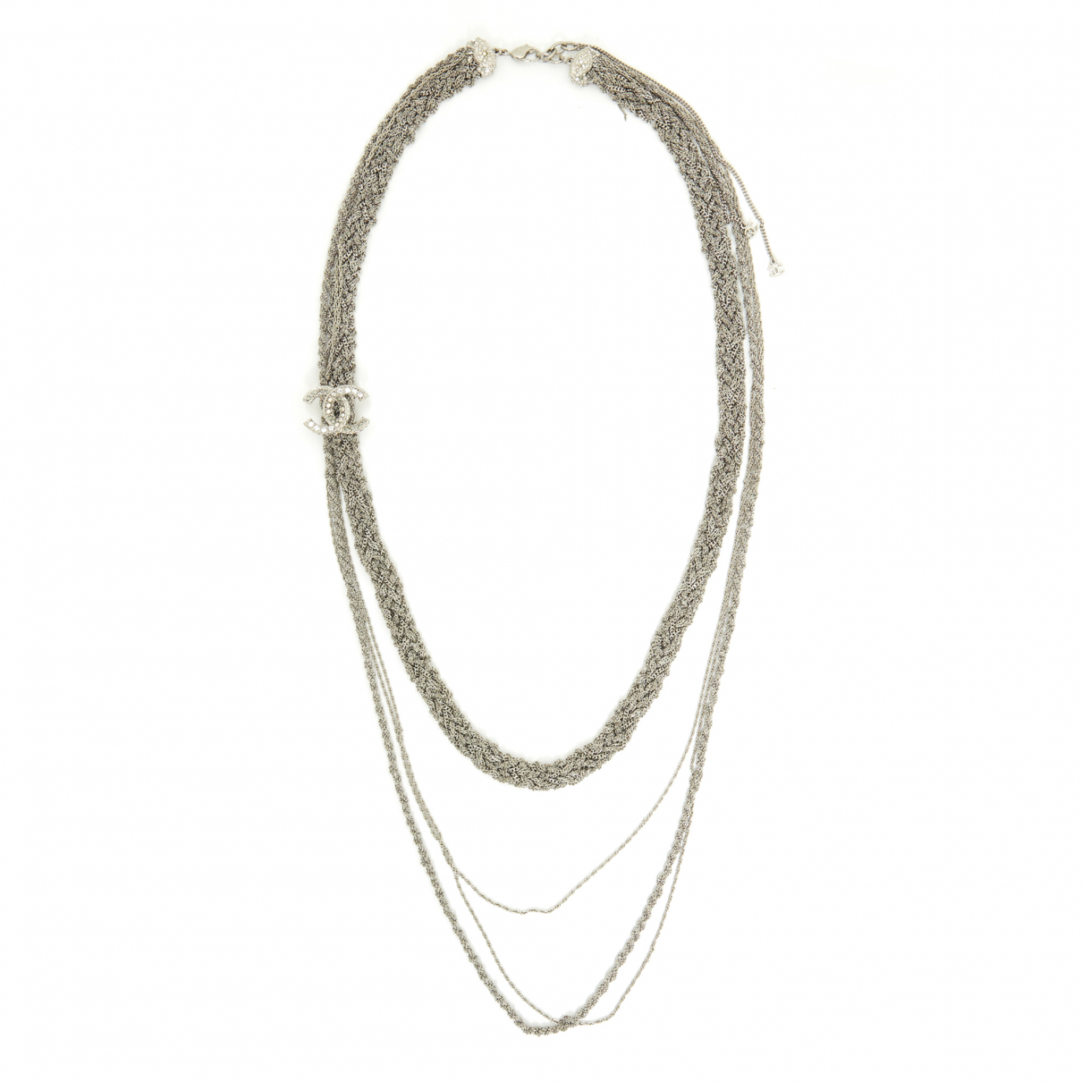 Collar largo CC Chanel