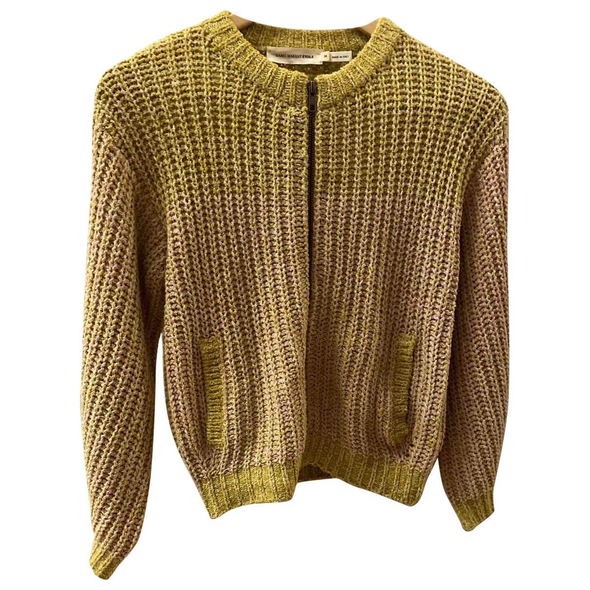 Isabel Marant Etoile - Pull   pour femme en coton - jaune