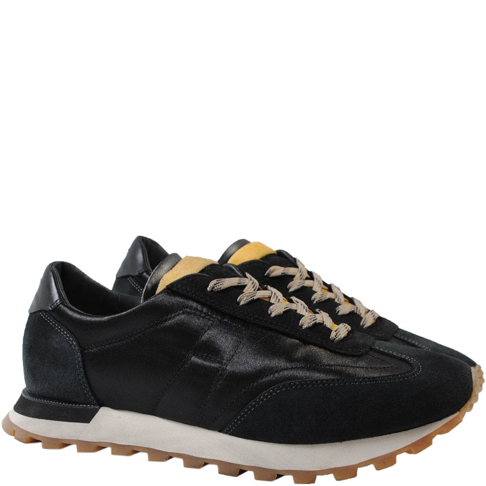Maison Margiela Extended Sole Runner Trainers Colour: BLACK, Size: 9