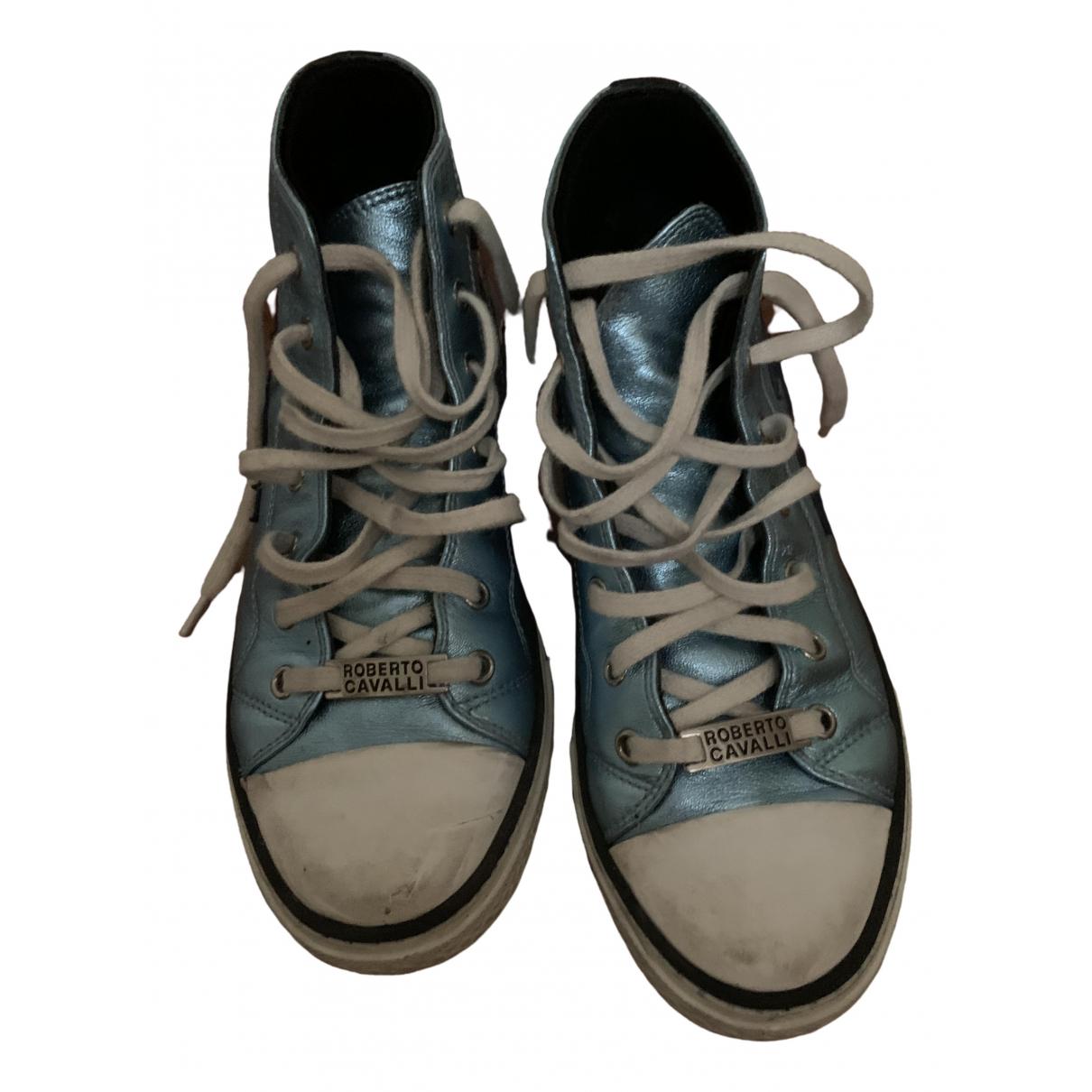 Roberto Cavalli \N Sneakers in  Bunt Leder