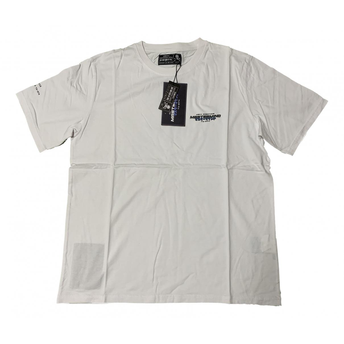 Mastermind Japan - Chemises   pour homme en coton - blanc