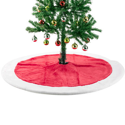 Jupe d'Arbre de Noël Deluxe Traditionnel Conception de Vacances Festives 44