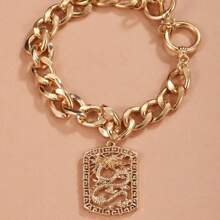 Armband mit chinesischem Drache Anhaenger