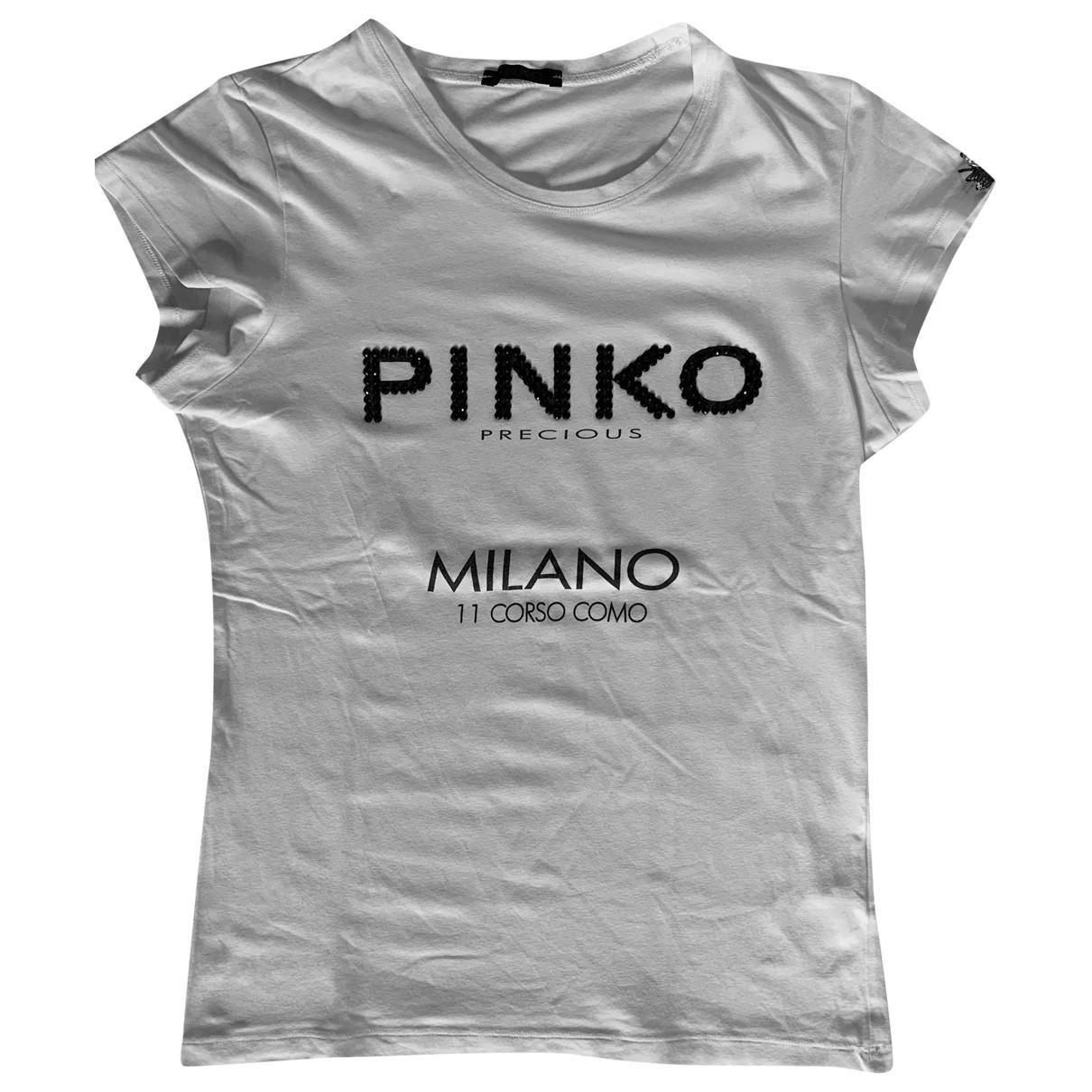 Pinko \N White Cotton  top for Women M International