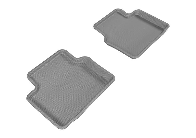 3D MAXpider 2011-2017 Buick Regal Kagu 2nd Row Floormats - Gray
