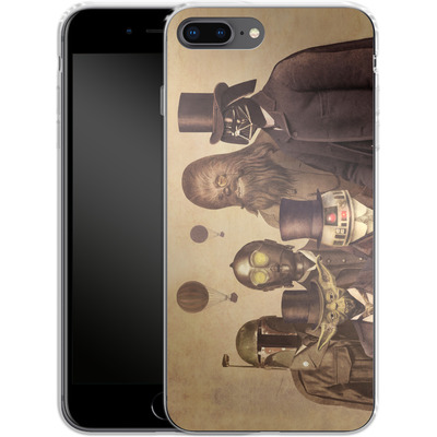 Apple iPhone 7 Plus Silikon Handyhuelle - Victorian Wars von Terry Fan