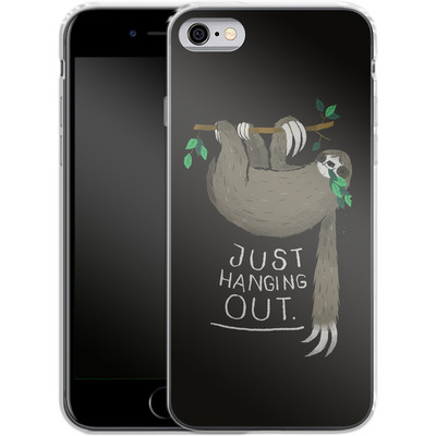 Apple iPhone 6s Silikon Handyhuelle - Just Hanging Out von Louis Ros