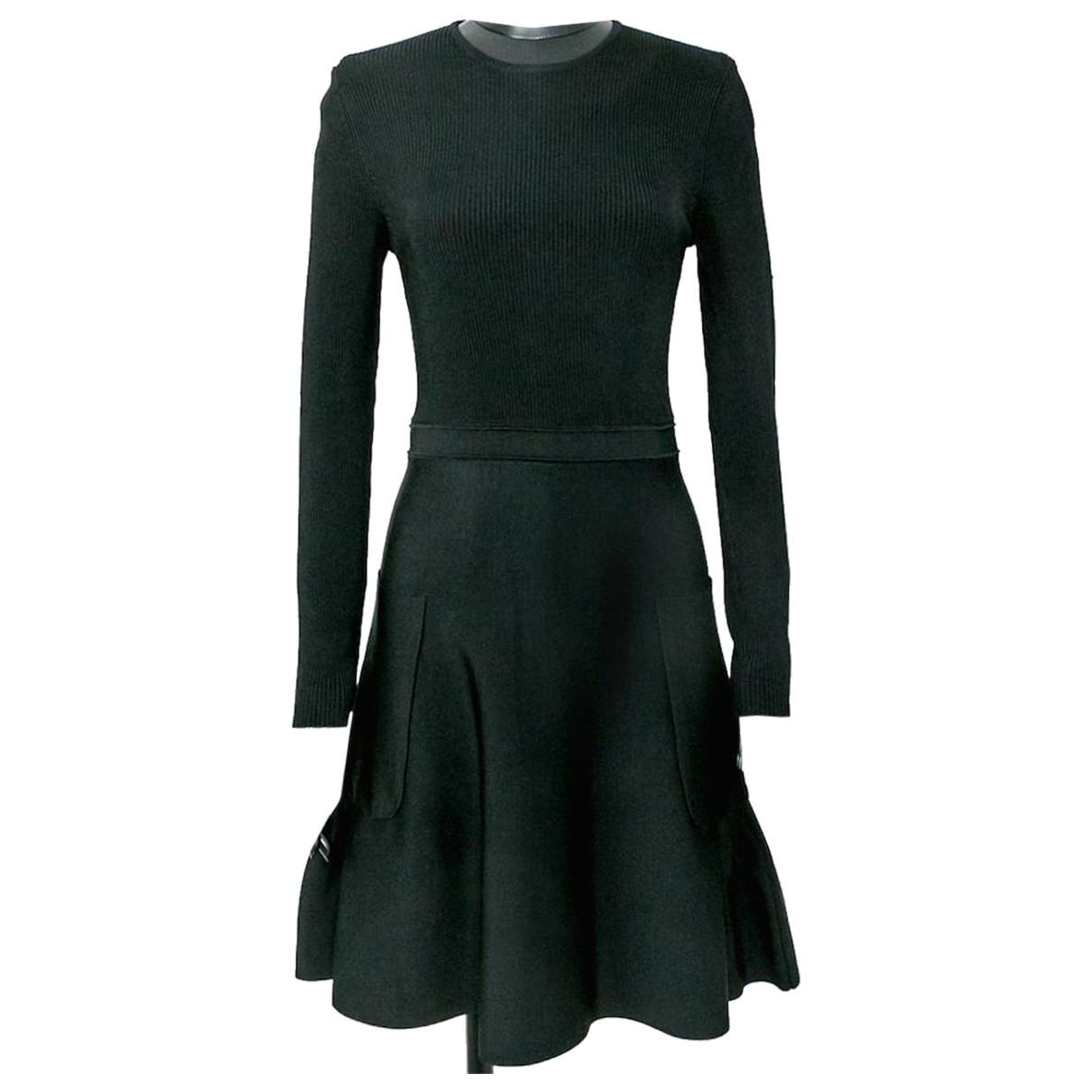 Victoria Beckham \N Kleid in  Schwarz Viskose