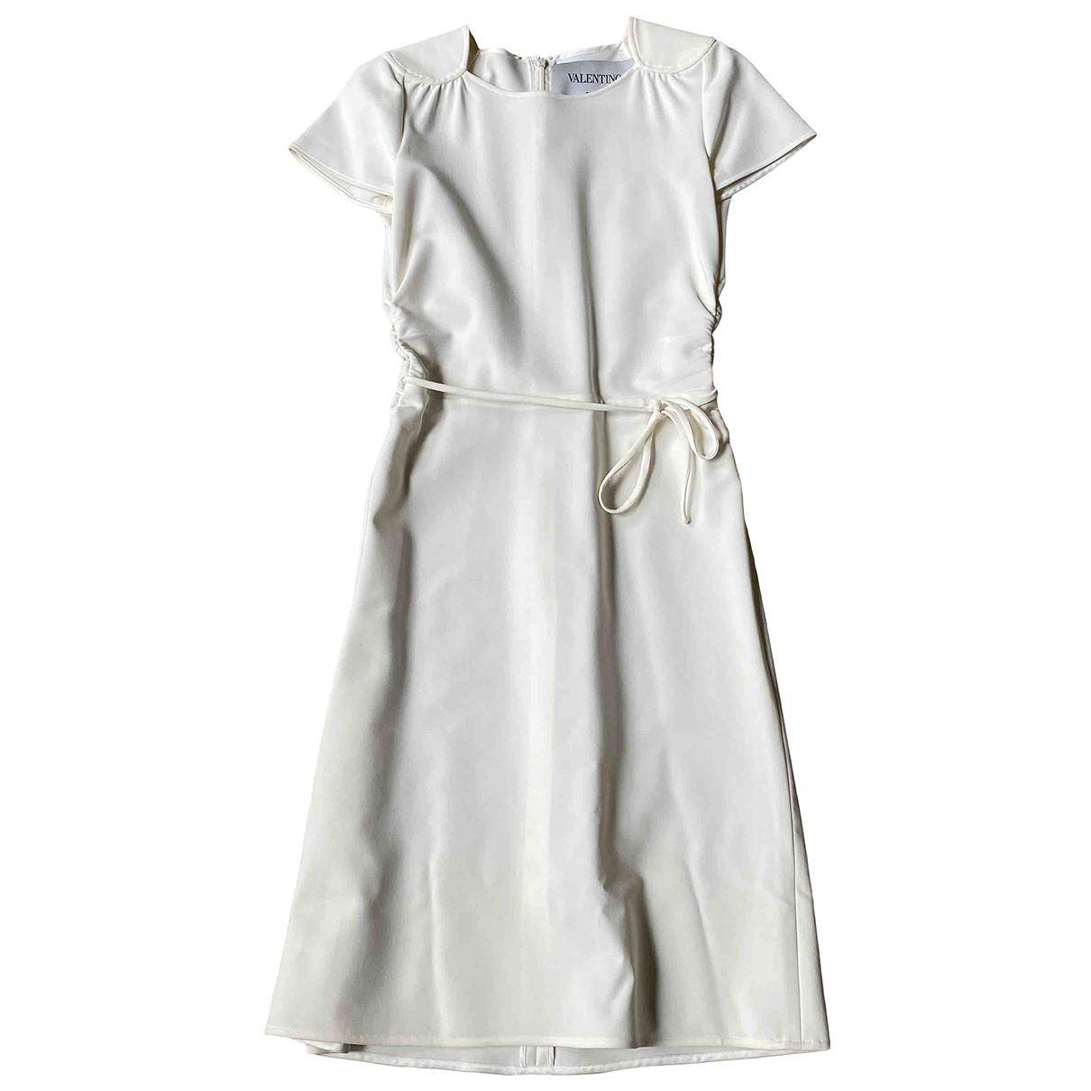 Valentino Garavani \N Ecru dress for Women 40 IT