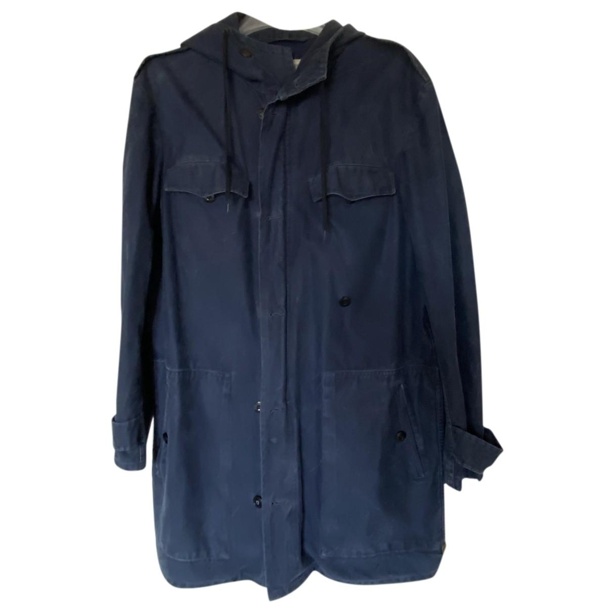 - Blouson   pour femme en coton - bleu