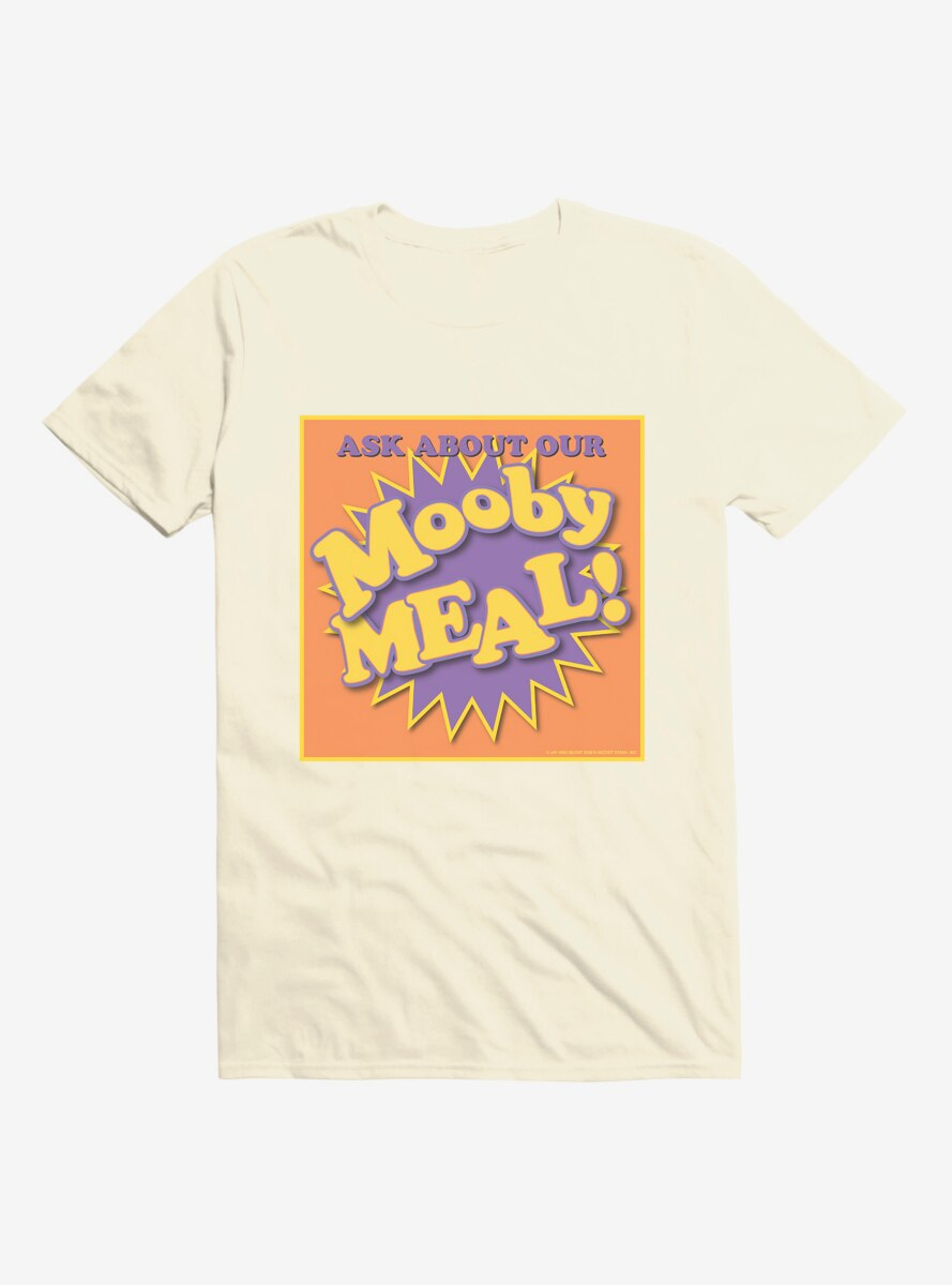Jay And Silent Bob Reboot Ask About Your Mooby Meal T-Shirt