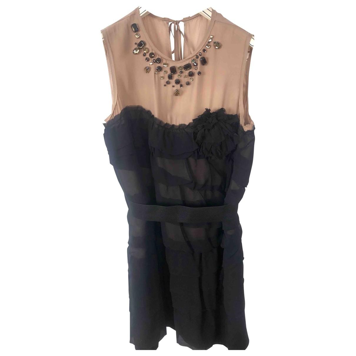 Lanvin For H&m - Robe   pour femme en soie - noir