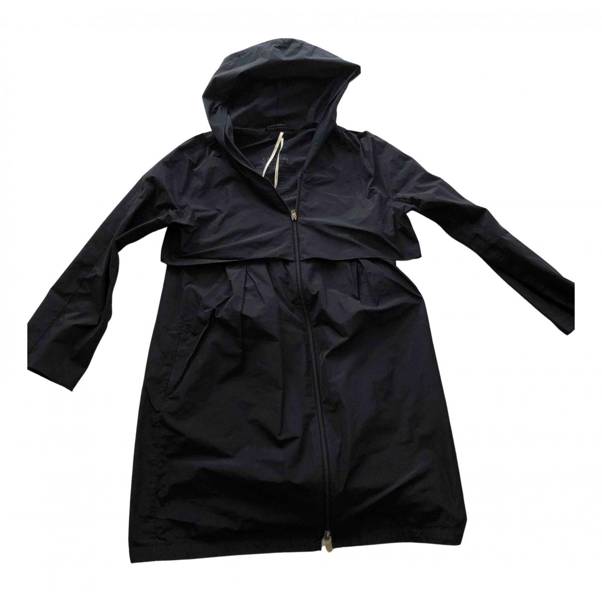 Max Mara 's N Blue Trench coat for Women 42 IT