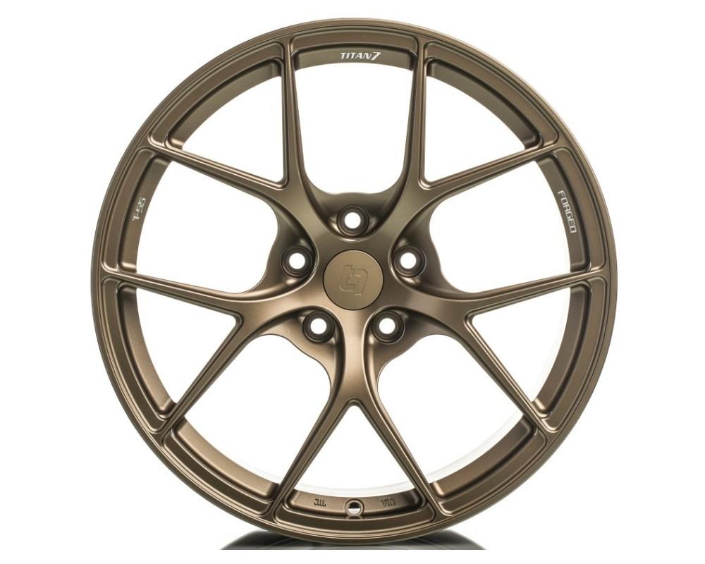 Titan 7 TS501885044511473TB T-S5 Wheel 18x8.5 5x114.3 44mm Techna Bronze