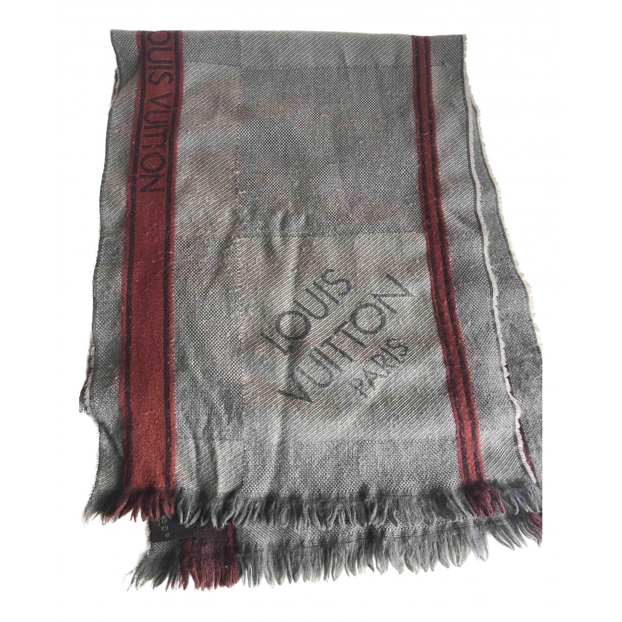 Louis Vuitton \N Schal in  Braun Wolle