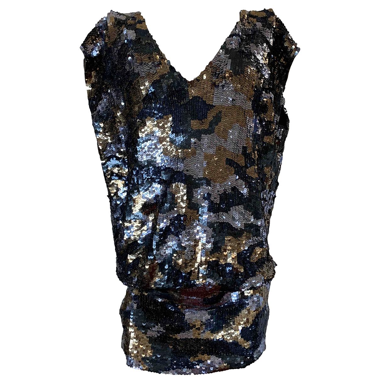 Pinko \N Kleid in  Gruen Mit Pailletten