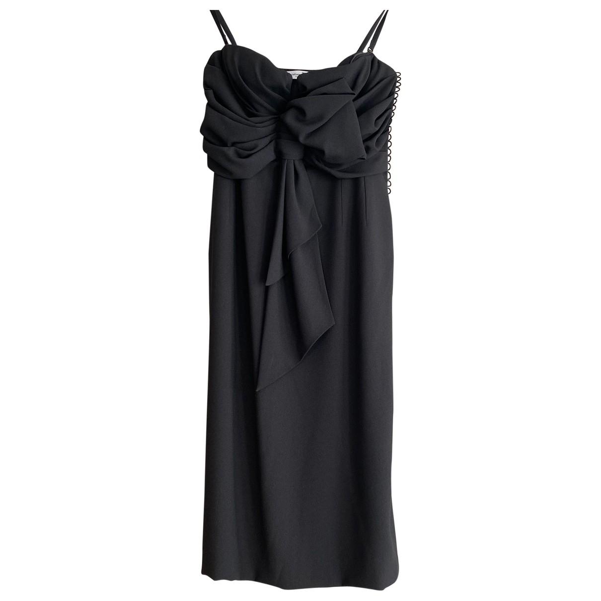 Vestido midi de Seda Christian Dior