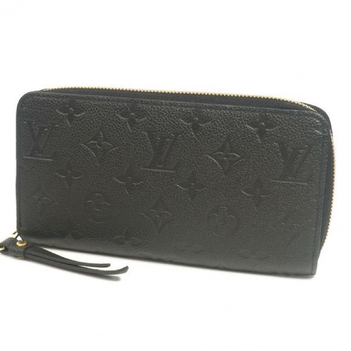 Louis Vuitton Zippy Black Cloth wallet for Women \N