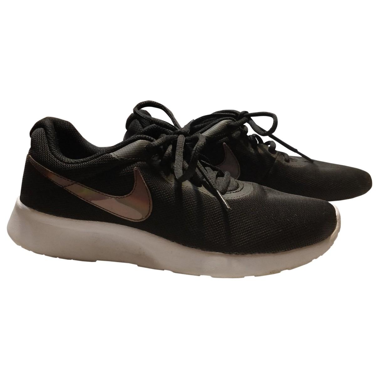 Nike \N Black Cloth Trainers for Women 38.5 EU