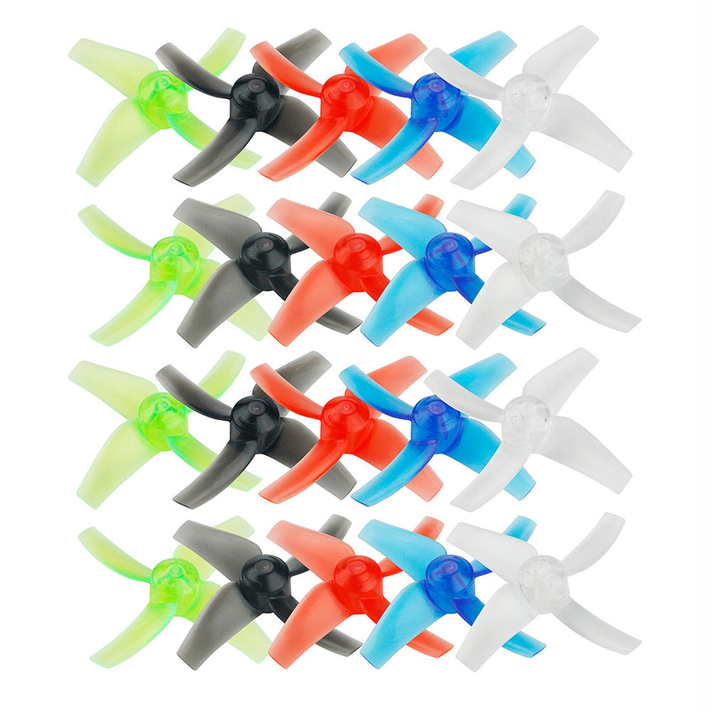 10 Pairs KINGKONG/LDARC 48mm 4-blade 1.5mm Hole Propeller for TINY GT7 GT8 2019 V2 FPV Racing Drone