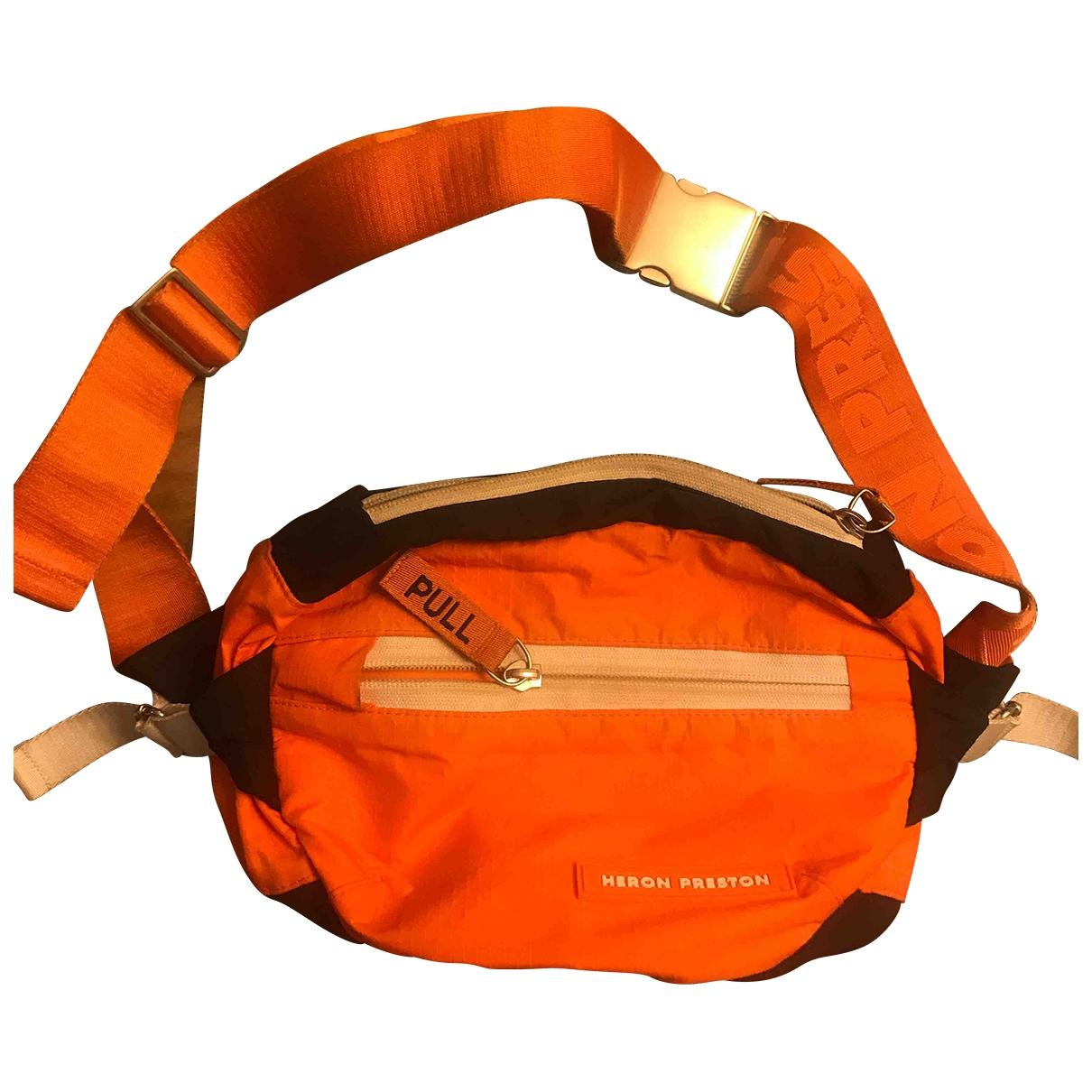 Heron Preston \N Handtasche in  Orange Polyester