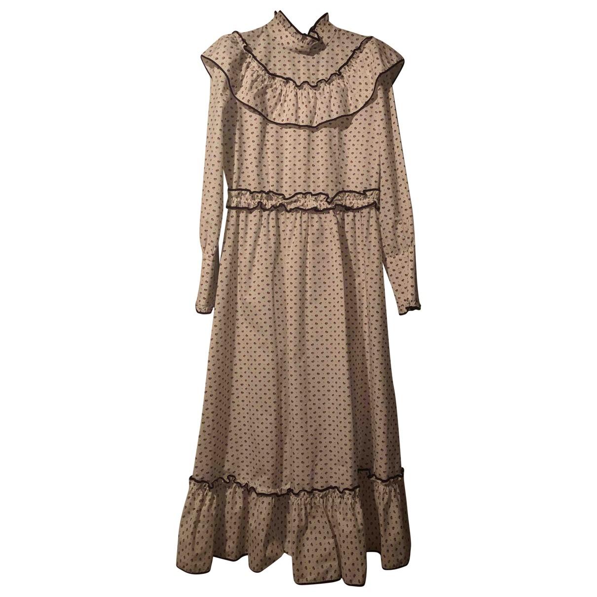 Ganni \N Kleid in Baumwolle