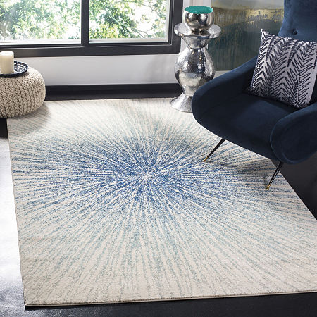 Safavieh Evoke Collection Aliya Abstract Square Area Rug, One Size , Multiple Colors