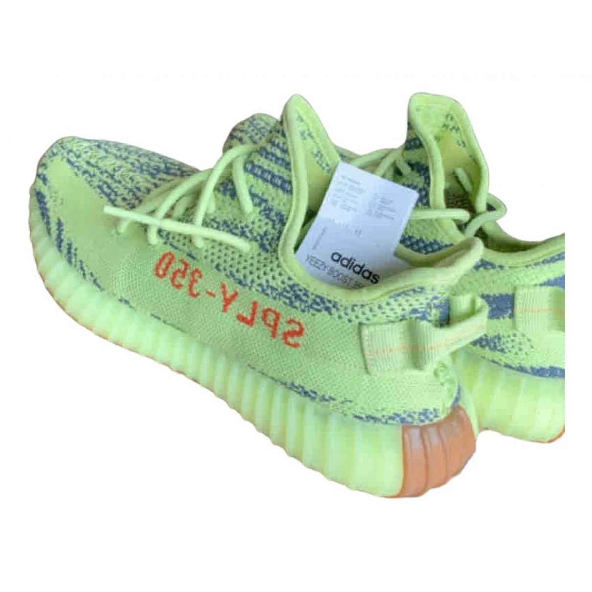 Yeezy X Adidas - Baskets Boost 350 V2 pour homme - jaune