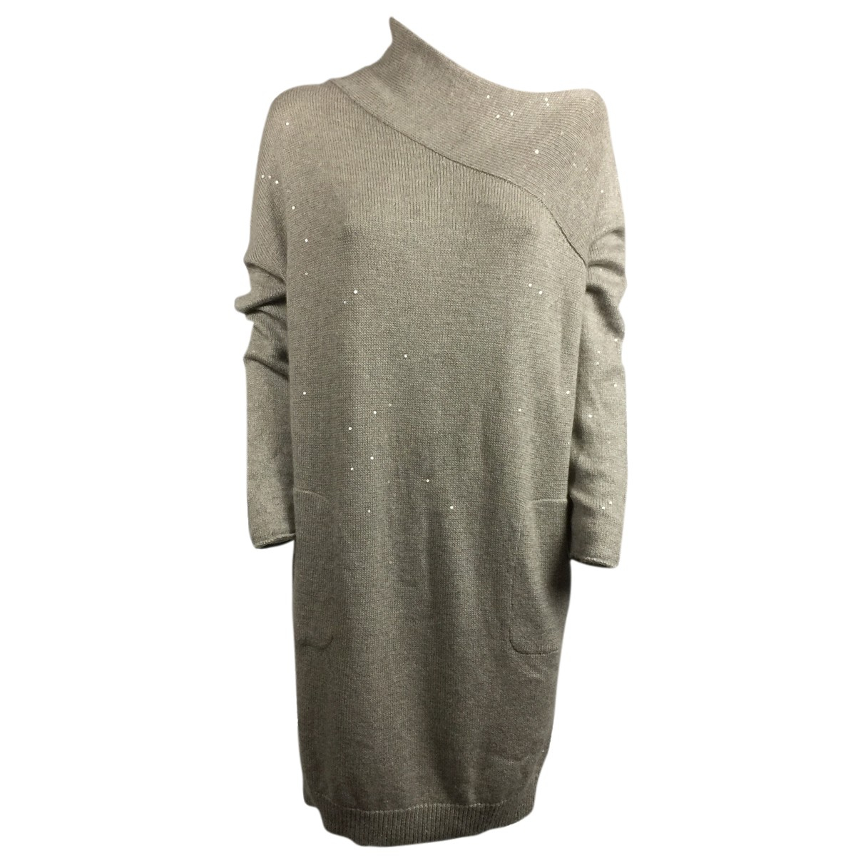 Brunello Cucinelli N Beige Cashmere dress for Women L International