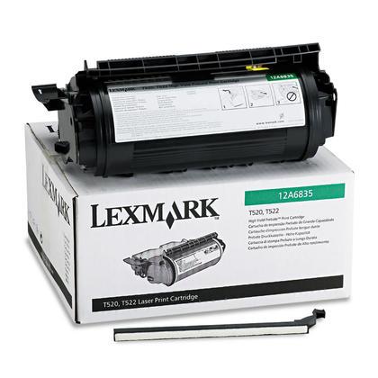 Lexmark 12A6835 Original Black Toner Cartridge High Yield