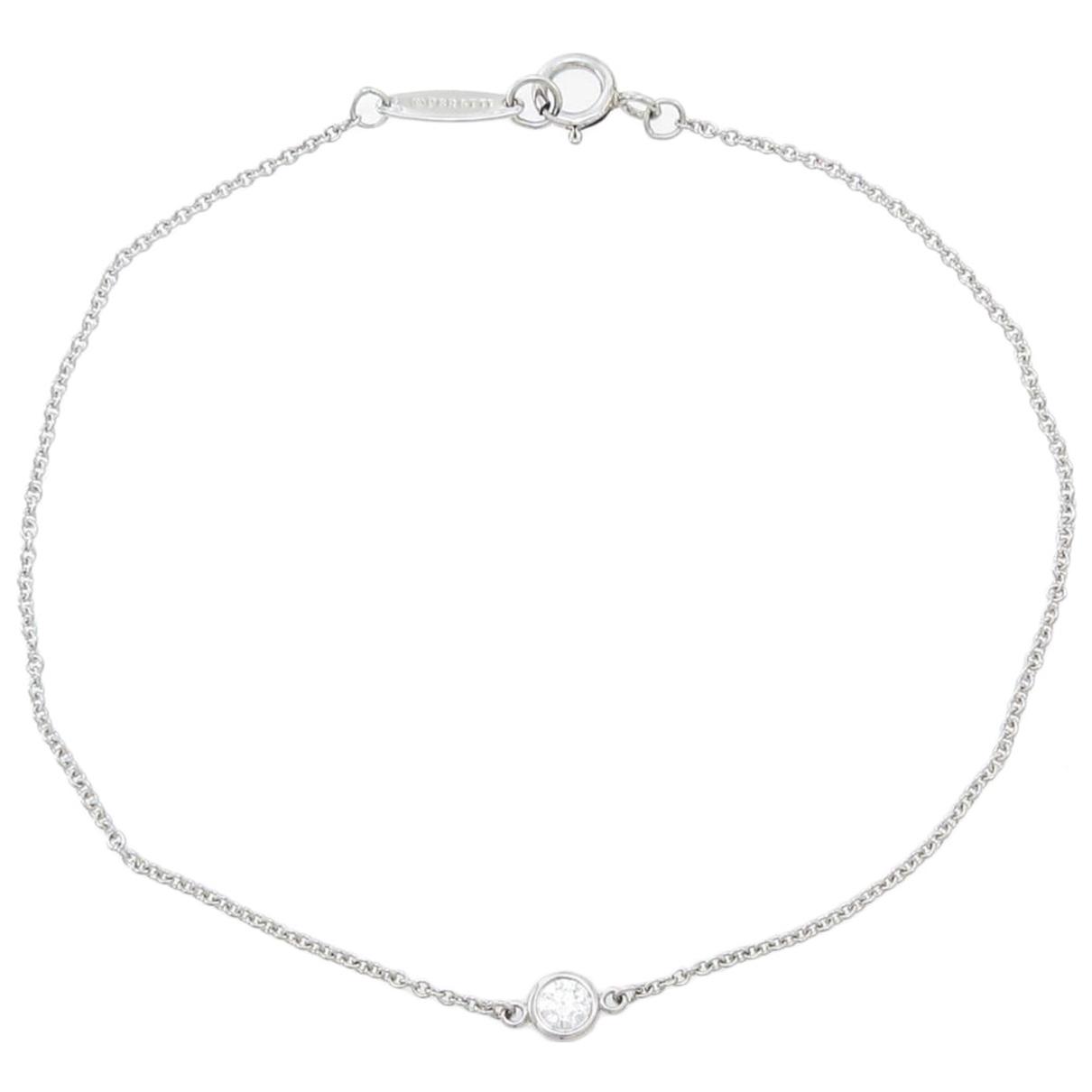 Tiffany & Co \N Gold White gold bracelet for Women \N