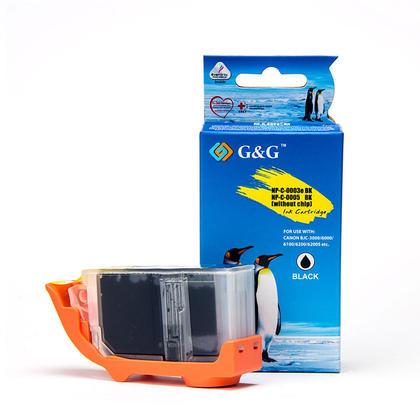 Canon BCI-3eBK cartouche d'encre compatible noire - G&G™