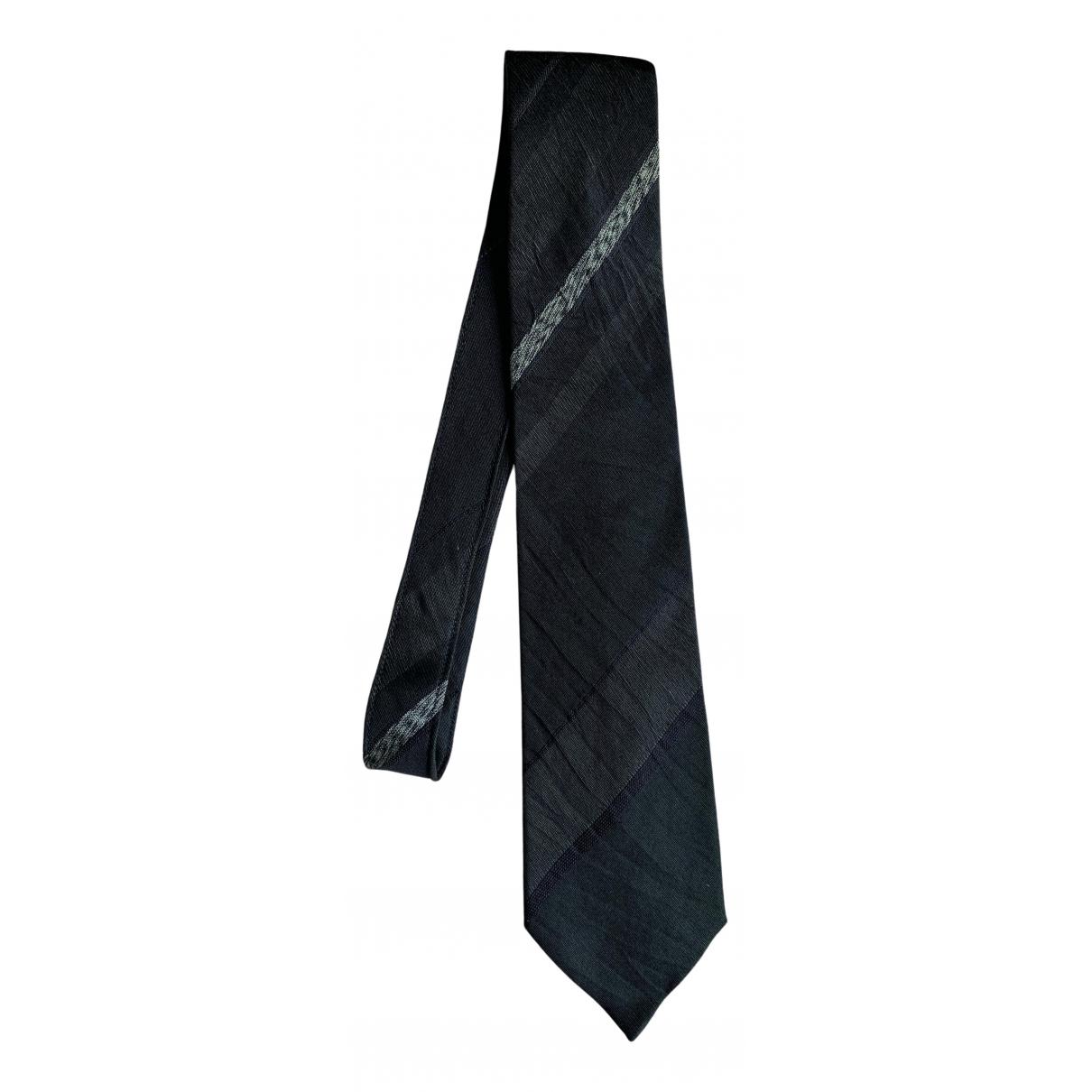 Corbata de Seda Comme Des Garcons