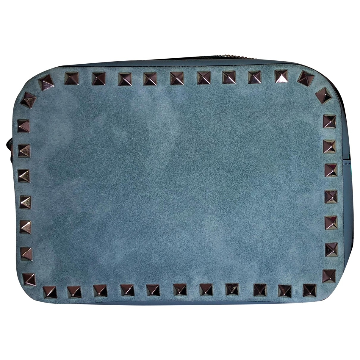 Valentino Garavani Rockstud Blue Suede handbag for Women \N