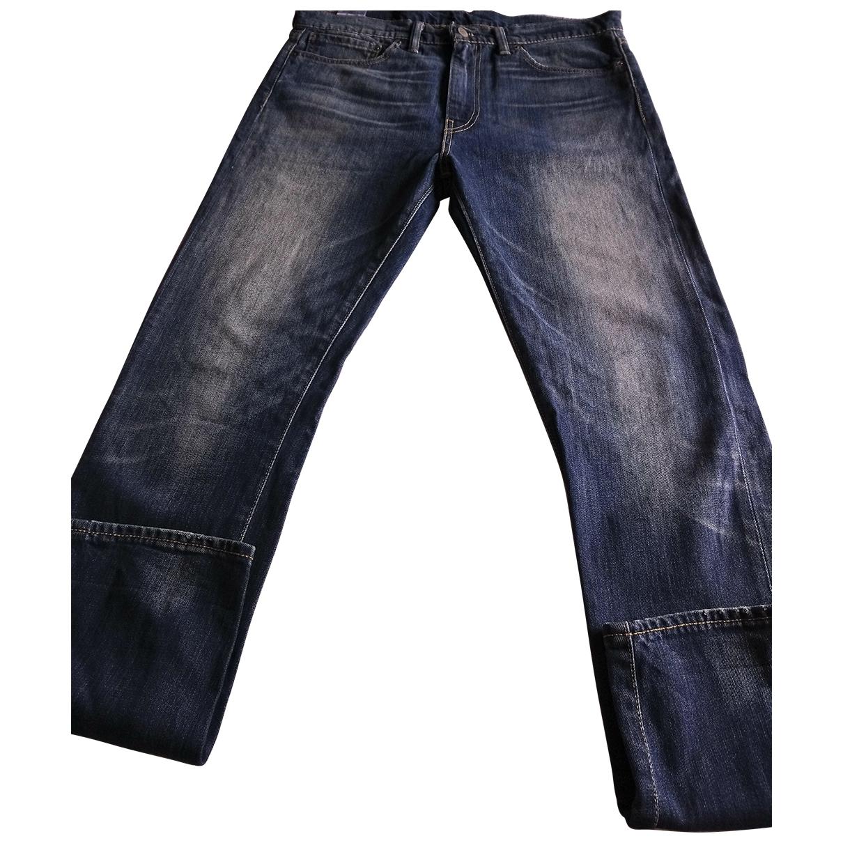 Levi's 510 Blue Cotton - elasthane Jeans for Men 34 US