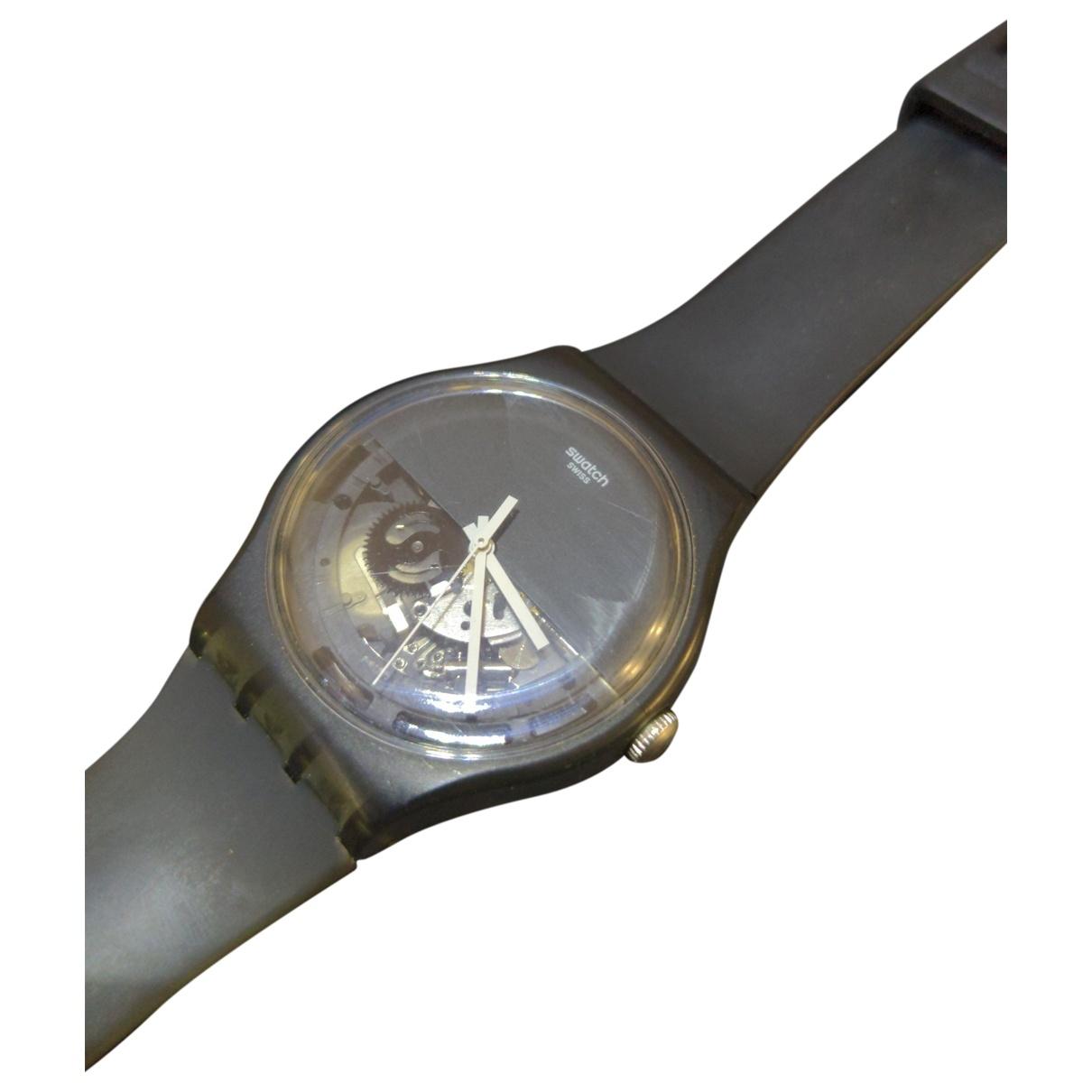 Swatch - Montre   pour homme en autre - noir