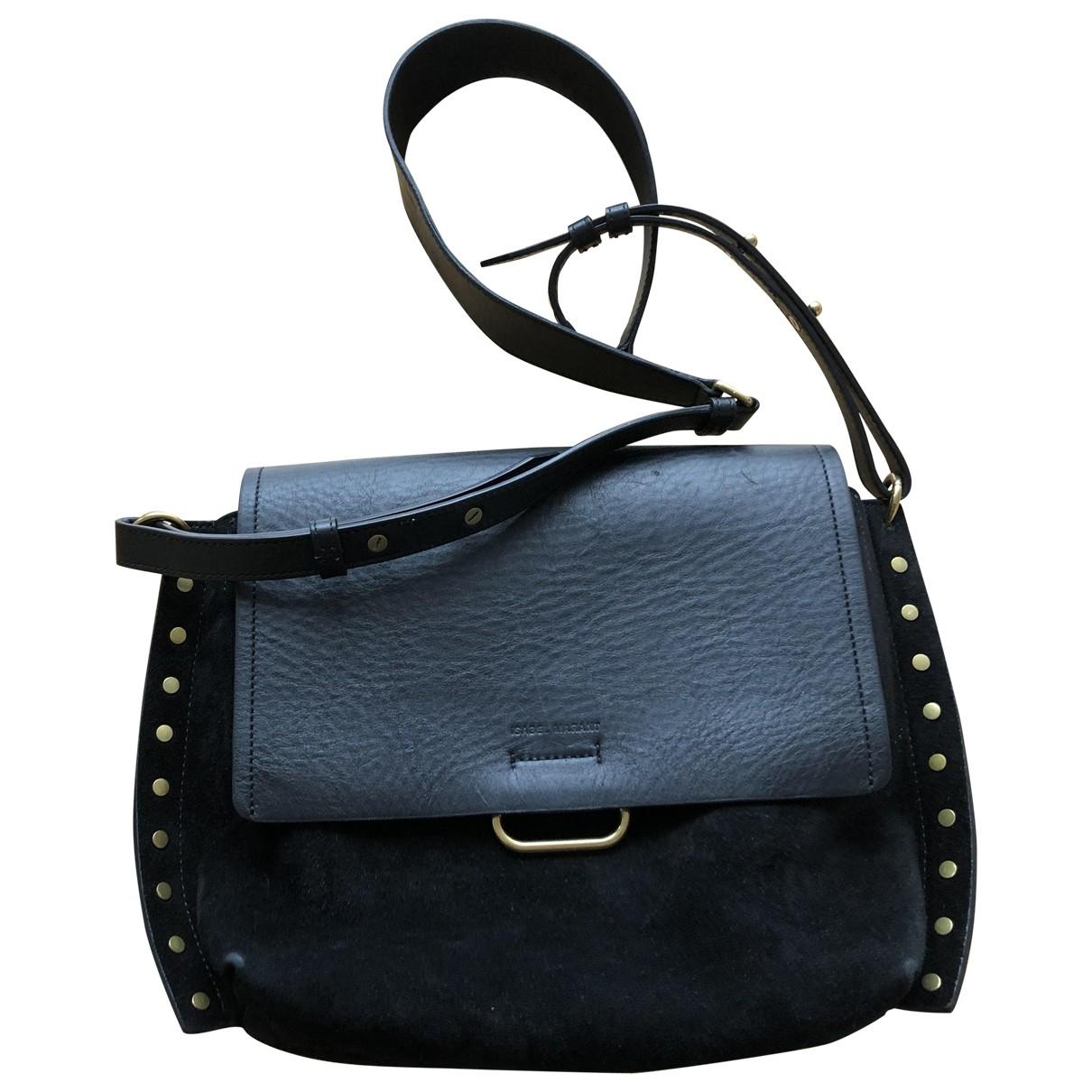 Isabel Marant \N Black Suede handbag for Women \N