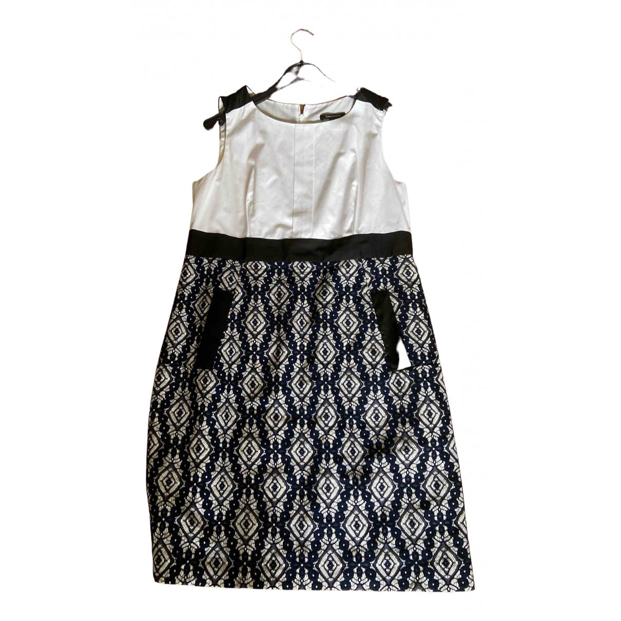 Tara Jarmon \N Kleid in  Bunt Leinen