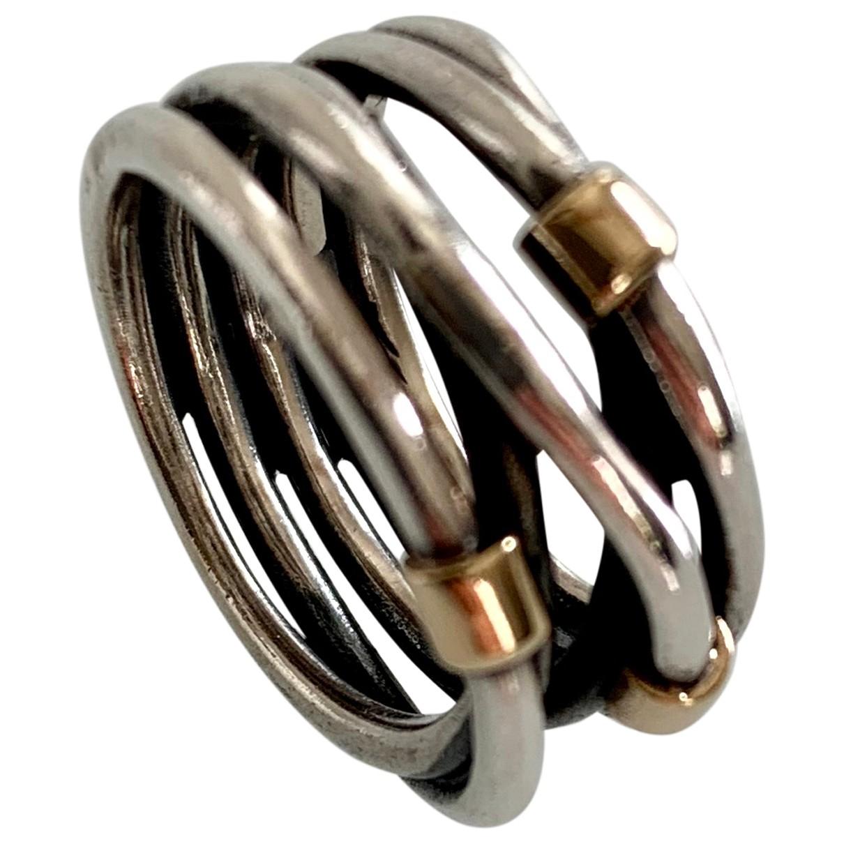 Pandora \N Silver Silver ring for Women 51 EU