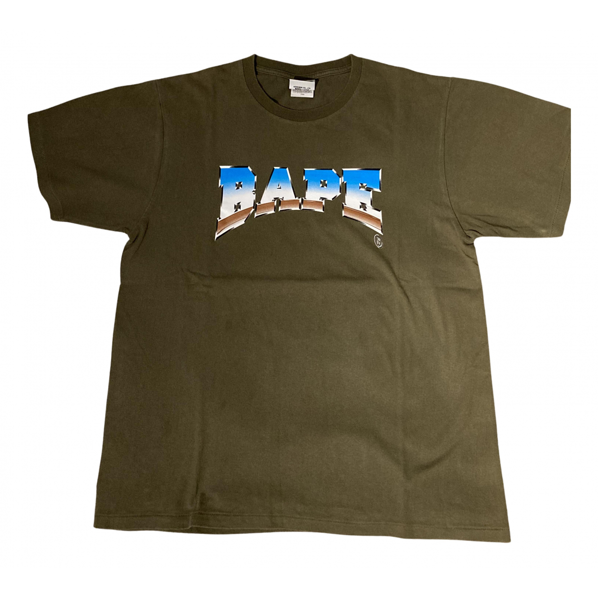 A Bathing Ape - Tee shirts   pour homme en coton - kaki