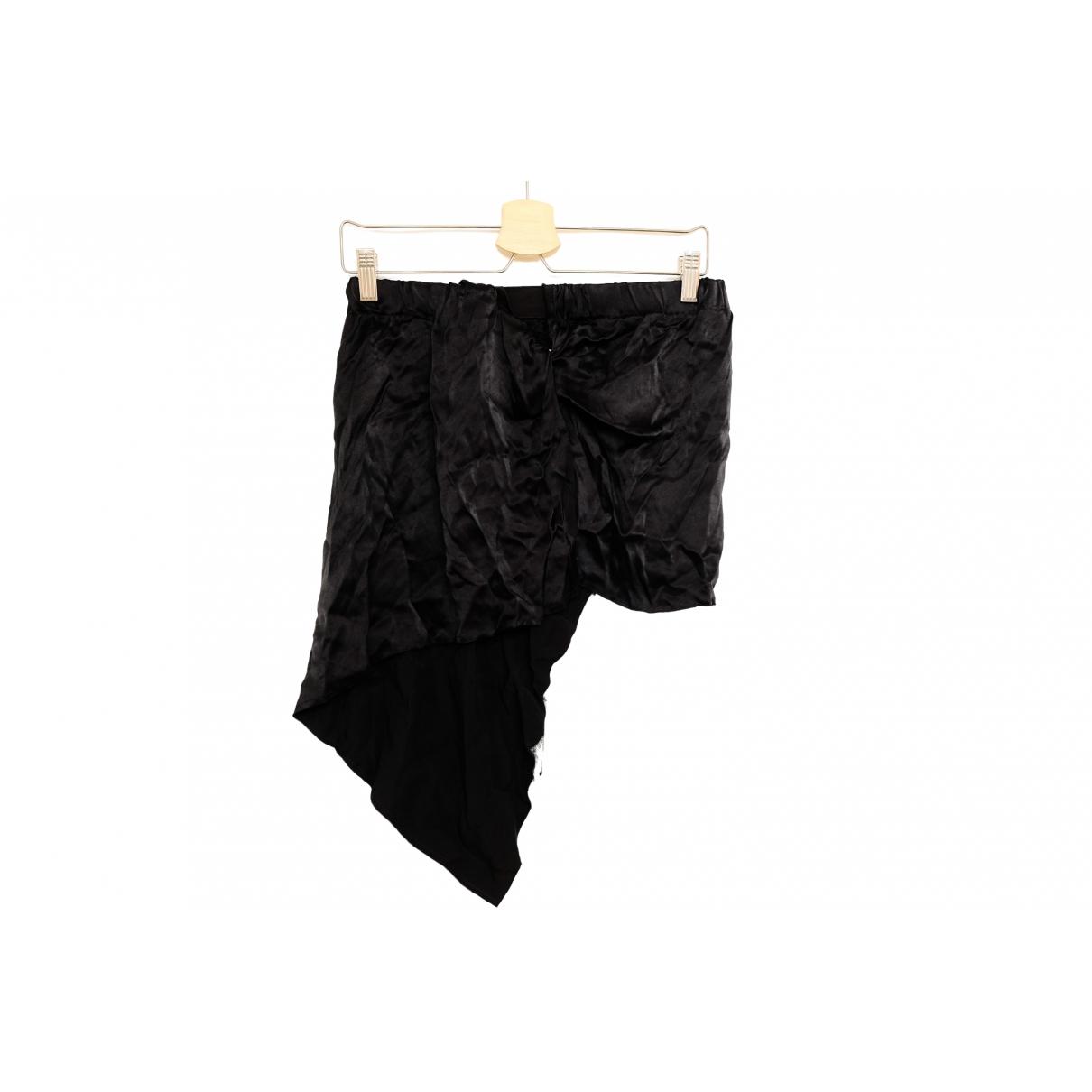 Maison Martin Margiela \N Black Silk skirt for Women S International