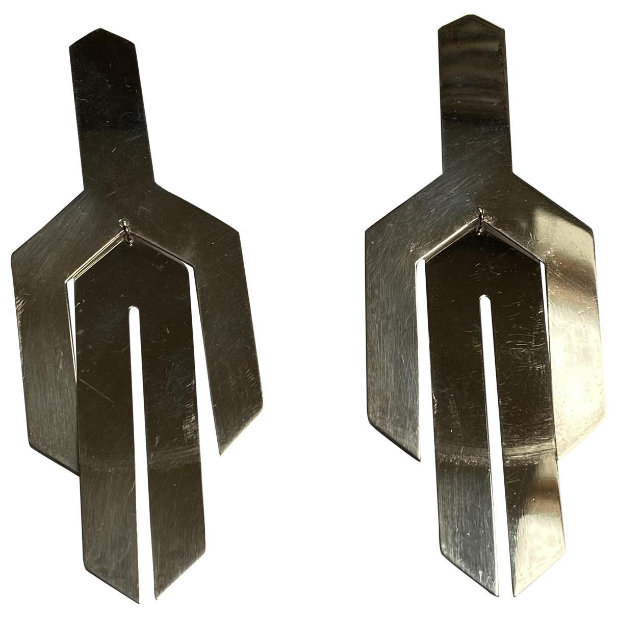 Marc Deloche \N Silver Silver Earrings for Women \N