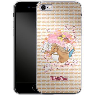 Apple iPhone 6s Silikon Handyhuelle - Bibi und Tina Abenteuer von Bibi & Tina