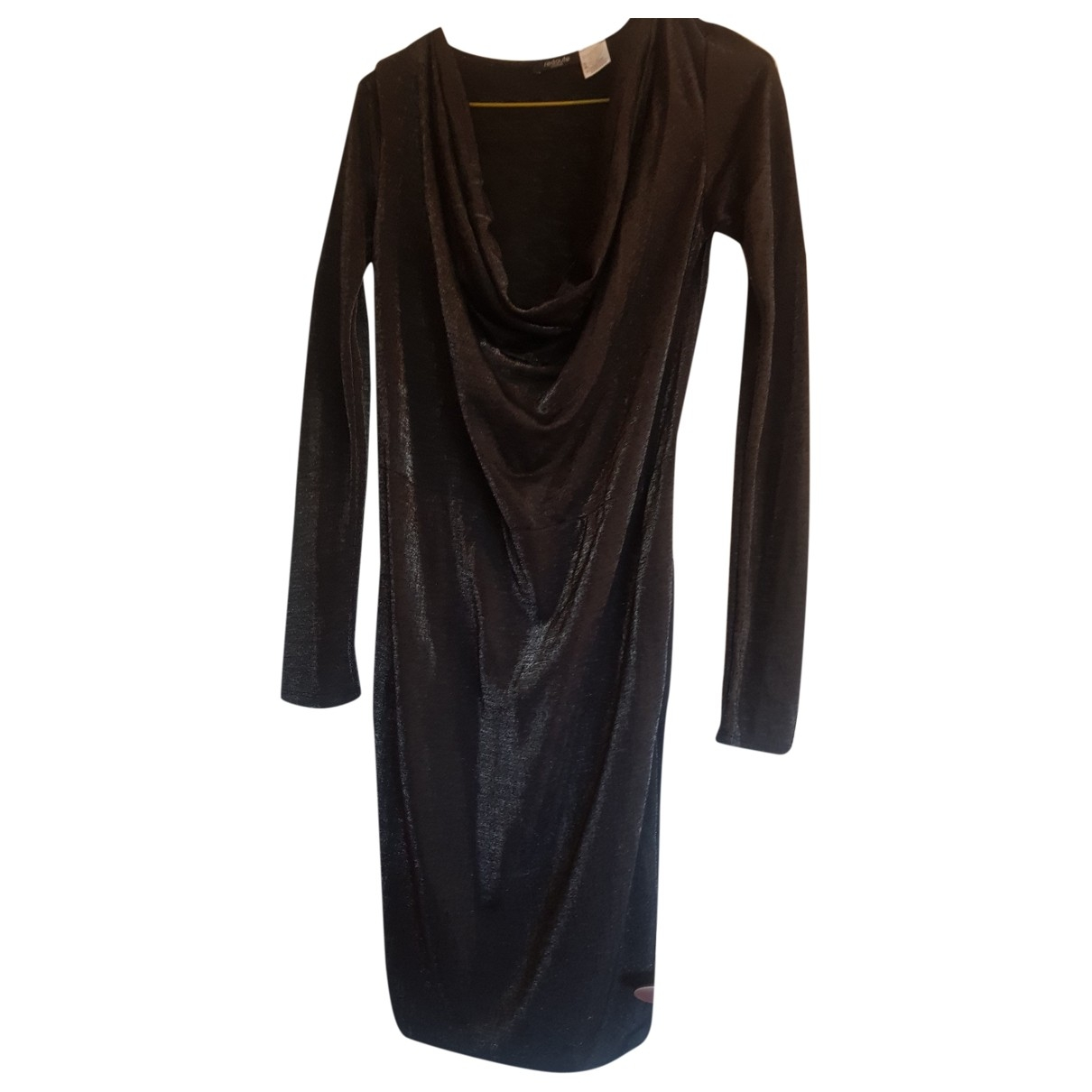 Non Signé / Unsigned \N Silver dress for Women 36 FR