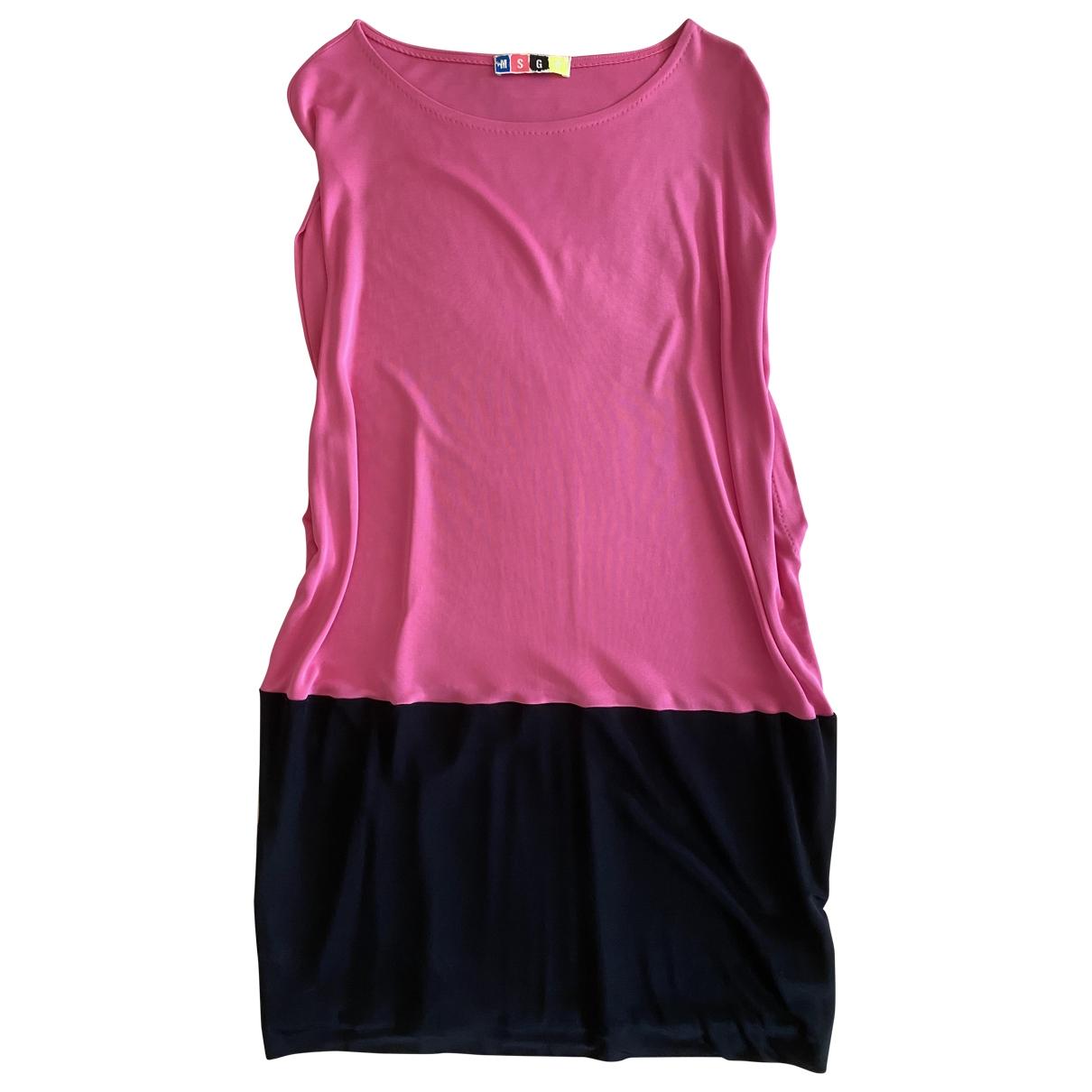 Msgm \N Kleid in  Rosa Polyester