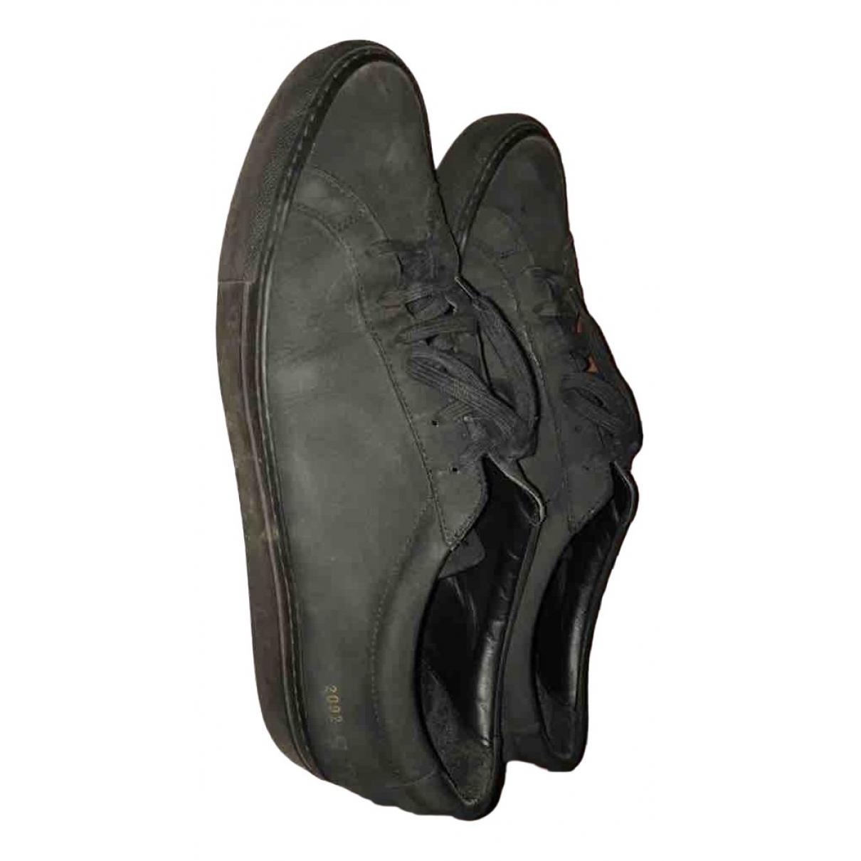Common Projects - Baskets   pour homme en cuir - noir