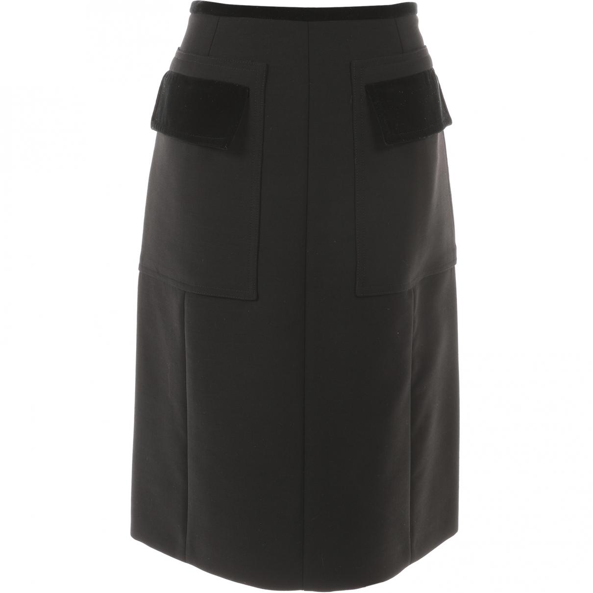 Gucci - Jupe   pour femme en laine - noir