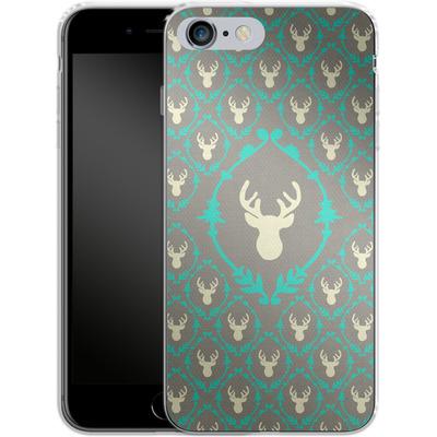 Apple iPhone 6s Plus Silikon Handyhuelle - Oh Deer von Bianca Green