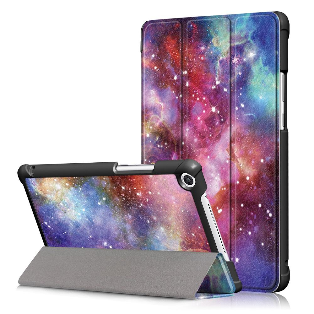 Tri Fold Colourful Case Cover For 8 Inch Huawei Honor 5 Tablet
